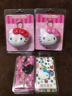 Hello Kitty Ezlink Charm/plush