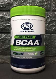 PVL 100% Pure BCAA 315g Unflavoured