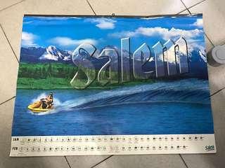 Vintage Calendar Salem
