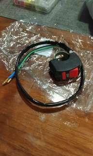 Motorcycle/ ebike light switch