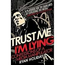 eBook - Trust Me, I'm Lying by Ryan Holiday