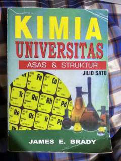 JAMES E. BRADY Kimia Universitas Jilid Satu