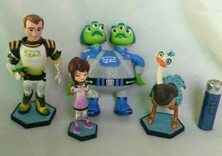 Disney Tomorrowland Transit Authority  Figures