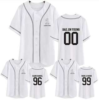 Preorder - WANNA ONE Baseball Tshirt *S-2XL*