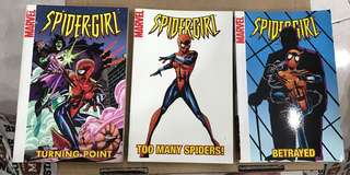 Vintage Spider-Girl Graphic Novels