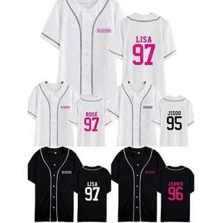 Preorder - BLACKPINK Baseball Tshirt *S-2XL* exc.pos