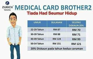 Medical Card Brother2 kacak