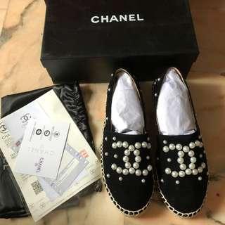 INSTOCK Chanel Espadrilles Size 39