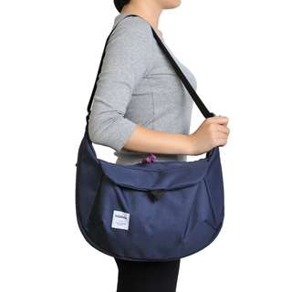 全新Hellolulu ZURI 多用途斜揹袋 All-day Sling Bag Navy色
