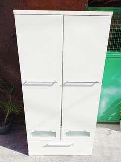 White Closet Cabinet