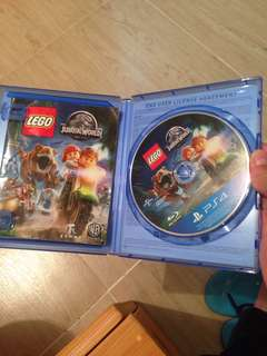 PS4Game lego Jurassic world