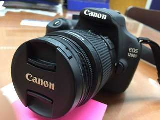 Canon 1200D Complete set with 2 extra lenses