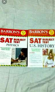 SAT Subject Test Textbooks Cheap Physics and US History