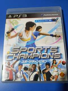 Sports Champion PS3 Move Game