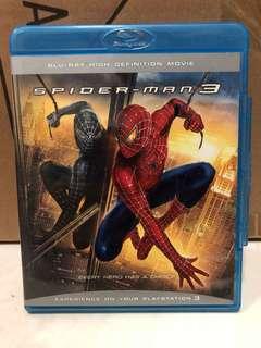 Spider-Man 3 bluray Free shipping