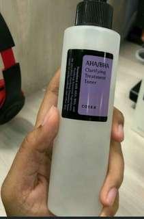 Cosrx AHA BHA clarifying toner