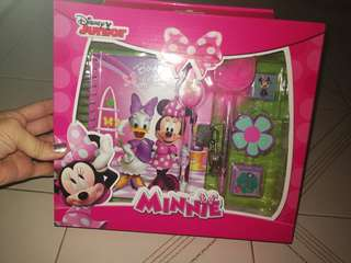 Disney Junior Minnie stationary set