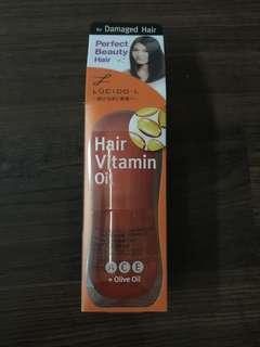 LUCIDO-L Hair Vitamin  A, C & E + Olive Oil