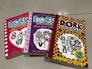 Dork diaries book bundle