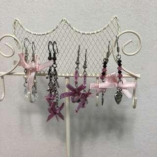Cheapest Handmade Earrings @ $2 each - Part 1