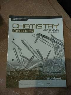 Chemistry(Pure) GCE O'Level 2nd edition Workbook