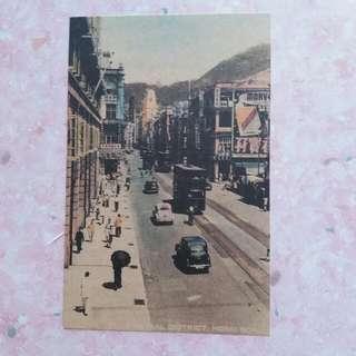 老香港明信片。