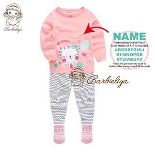 Kids Pyjamas DIY NAME SET