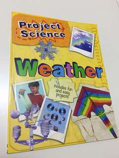 Project Science - Weather book