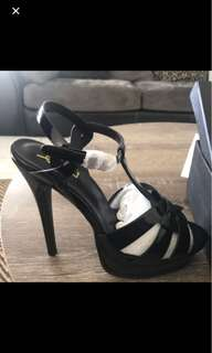 YSL Tribute heels blk size 40 shoes