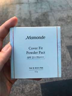 BN Mamonde Cover Fit Powder Pact