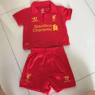 Liverpool Jersey Kids