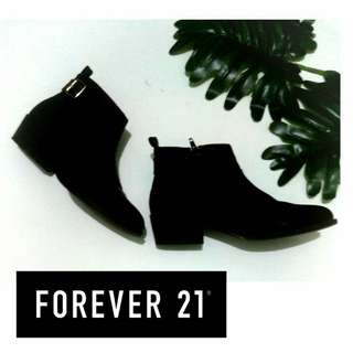 Authentic Forever21™ Ankle Boots