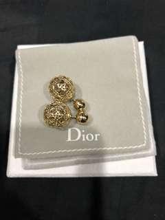 Christian Dior Tribal Earring