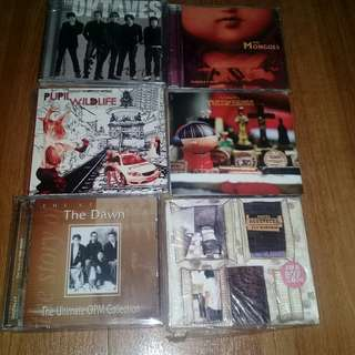 OPM CDs Mongols, Ely Buendia, Oktaves