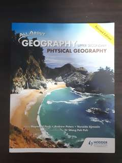 Upper Secondary Geography textbook