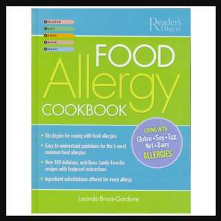 Food Allergy Cookbook - RD1007
