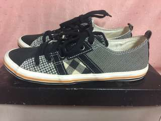 Like New ! PROMOD Gingham Sneakers