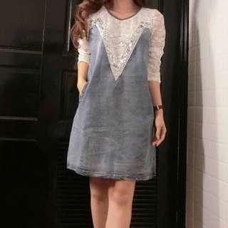Dress jeans Lace
