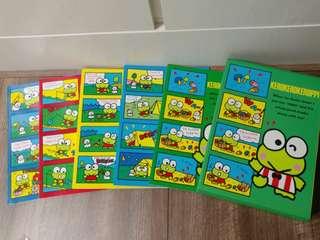 Sanrio kero keroppi kp青蛙 3R相簿一套5本