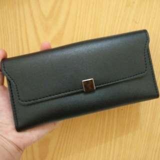 Dompet Hitam Black Wallet