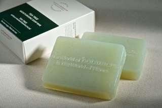 100% organic botanicus moisturising soap bar