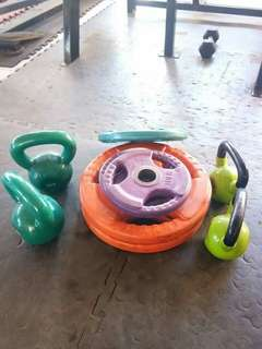Rubberized Olympic Plates -Php50.00 per lbs