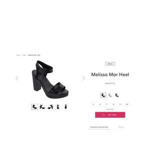 Mellisa heels (100% real and new)