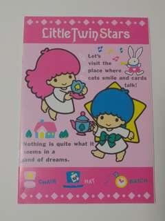 Sanrio Little Twin Stars簿