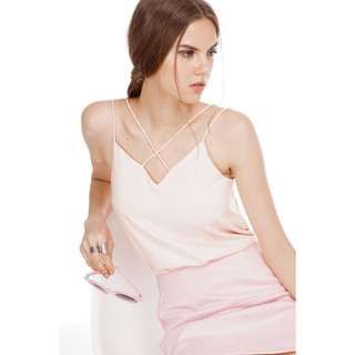 TCL Kriss top in peachy pink