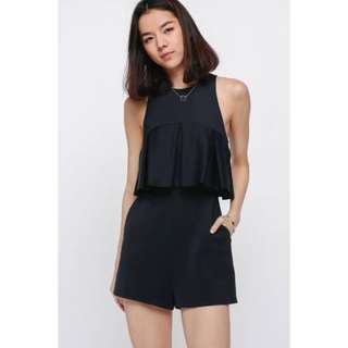 LB kozelle pleat playsuit