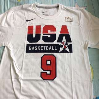 USA Dream Team Jordan No.9 Tee Tshirt NBA Rep Jersey