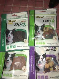 Wanpy assorted dog treats