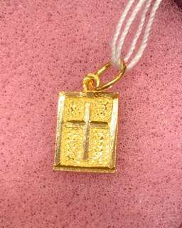 Happy Mother's Day - ❤️ Cross Pendent (Gold 916)