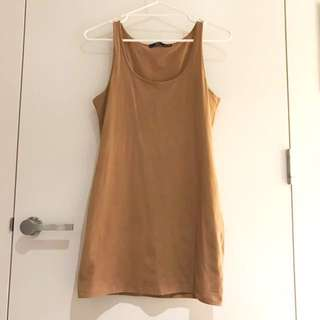 Sportsgirl Brown tube dress